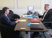 Cobalchini estreita diálogo com o Estado sobre a fiscalização educativa no trânsito