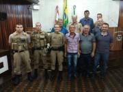 Novos policiais são apresentados em Morro da Fumaça