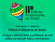 Inscrições para o Prêmio Professores do Brasil até 28 de maio