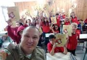 Volta às aulas PROERD nas escolas de Araranguá