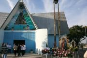 Paróquia celebra bênção de pedra fundamental