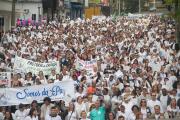 Paróquias de Criciúma realizam 4ª Caminhada pela Vida e pela Paz