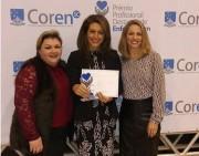 Coordenadora de Enfermagem da Esucri recebe Prêmio Destaque