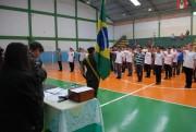 Mais de 90 jovens recebem Dispensa Militar em Cocal do Sul