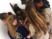 Grupo Escoteiro Aguaí retoma atividades em Siderópolis