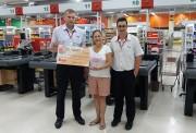 Bistek arrecada o montante de R$ 73.620,56 distribuídos para ONGs