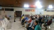 Moradores de Vila Nova discutem insegurança com PM