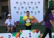 Paratletas do Unibave conquistam medalhas nos jogos paralímpicos