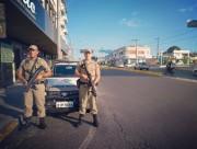 Polícia Militar: Presença constante nas ruas de Araranguá