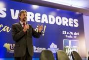 Pedro Uczai participa de encontro de vereadores em Brasília