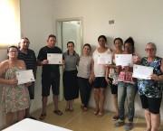 Grupo de Controle e Tratamento do Tabagismo recebe certificados