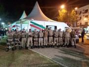 PM reforça policiamento e garante a segurança na 27º Festa do Peixe