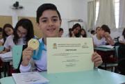 Içara conquista único ouro do Estado na Olimpíada Regional de Matemática