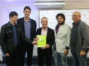 Décio Lima defendeu criação do Banco do Povo em evento da Fampesc