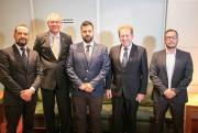 Vice-governador de região da Grécia visita a Alesc