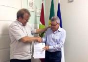 Siderópolis entrega OS para pavimentação de mais quatro ruas