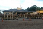 PM realiza grande operação em Turvo, Meleiro e Ermo