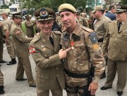 Sargento do 19º BPM recebe medalha Mérito da Cruz de Bravura