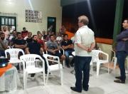 Reunião de moradores define detalhes de novas pavimentações em Vila São Jorge