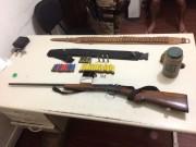 PM de Araranguá prende homens por porte ilegal de arma de fogo