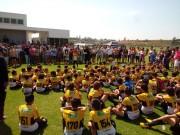 Evento de encerramento das aulas da Escolinha do Tigre