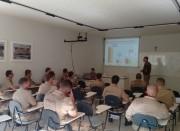Comandante da 1ª Cia do 19º BPM se reúne com sargentos