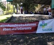 Patrão aciona justiça e impede greve dos trabalhadores da saúde