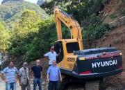 Agricultura ganha reforço com nova escavadeira hidráulica