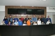 Alunos do Centro de Educação e Cultura Pedro Valentim Monteiro visitam a Câmara
