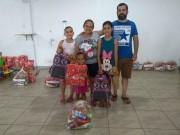 Campanha Natal Solidário ajuda famílias do Rio Maina