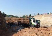 DNIT/SC começa construção de pilares no último viaduto