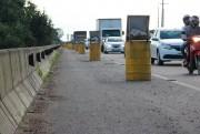 Velocidade é reduzida sobre ponte do Rio Tubarão