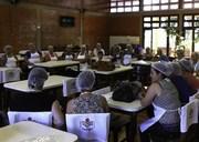 Oficina culinária promove aula prática para merendeiras