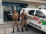 Ostensividade: PM sempre presente nas ruas de Arroio do Silva