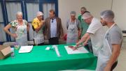 Agricultores participam de curso de processamento de carne suína