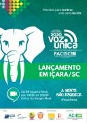 Município de Içara terá lançamento do Voz Única nesta quarta-feira