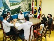 ACIVA repassa bandeiras e sugestões em primeira reunião com prefeito Cesar Cesa