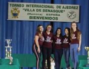 Enxadrista içarense em treinamento na Espanha