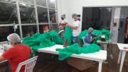 Equipe do CCTI inicia produção de máscaras e jalecos para Administração Municipal