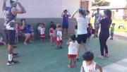 Crianças dos CEI Afasc tem primeiro contato com equipe de Educação Física do DEI