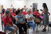 Monitoras dos Clubes de Mães da Afasc recebem orientações sobre saúde mental