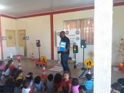 Diretoria de Trânsito e Transporte leva aula de cidadania para crianças