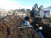 Siderópolis inicia drenagem que deve evitar alagamentos