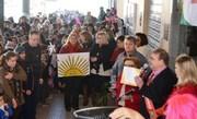 Após ganhar prêmio, prefeito de Siderópolis é surpreendido com recepção no Paço Municipal