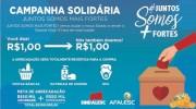 Covid-19: entidades intensificam campanha de arrecadação de recursos
