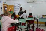 Alunos do ensino fundamental ll de Içara retomam as aulas presenciais