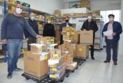 Municípios da Amrec recebem testes rápidos adquiridos com recursos do MPT