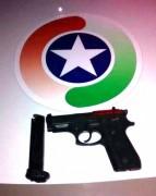 Arma e munições são apreendidas pela PM em Içara