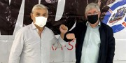 Moreira visita Içara em gesto de apoio à Arnaldinho candidato do MDB