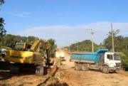 Inicio dos trabalhos de asfaltamento ao Santuario em Içara
